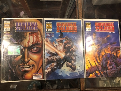Picture of UNIVERSAL SOLDIER #1 2 3 ~ BASED ON MOVIE