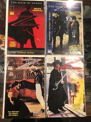 Picture of THE MASK OF ZORRO #1 2 3 4 ~ BASED ON MOVIE