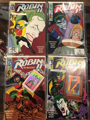 """Picture of ROBIN II """"THE JOKER'S WILD!"""" #1 2 3 4  HOLOGRAM COVERS"""