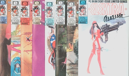 Picture of ELEKTRA ASSASSIN (1986) #1-8 VF/NM SET
