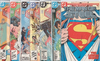 Picture of MAN OF STEEL (1986) #1-6 & SPECIAL COLLECTOR'S EDITION SET
