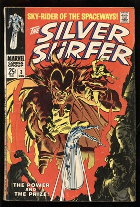 Picture of SILVER SURFER (1968) #3 3.5 VG-