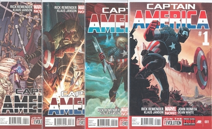 Picture of CAPTAIN AMERICA (2013) #1-4 SET NM-