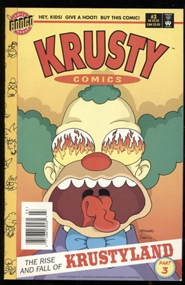 Picture of KRUSTY COMICS #3 9.0 VF/NM