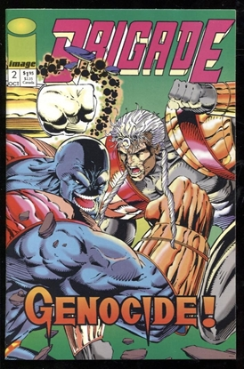 Picture of BRIGADE (1992) #2 9.4 NM