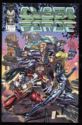 Picture of CYBER FORCE (1992) #1 9.4 NM