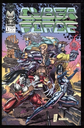 Picture of CYBER FORCE (1992) #1 9.6 NM+