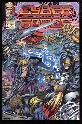 Picture of CYBER FORCE (1992) #2 9.4 NM