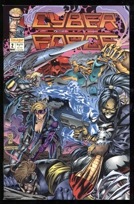 Picture of CYBER FORCE (1992) #2 9.6 NM+