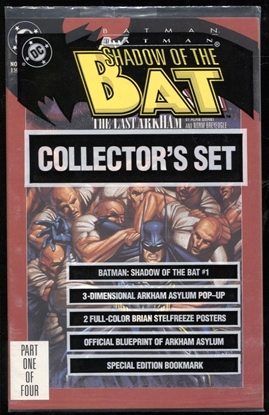 Picture of BATMAN SHADOW OF THE BAT (1992) #1 BAGGED 9.4 NM