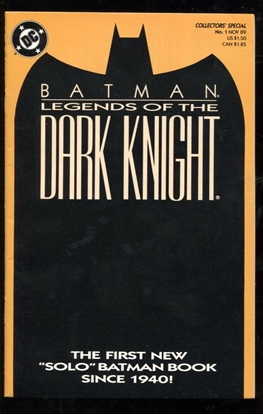 Picture of BATMAN LEGENDS OF THE DARK KNIGHT (1989) #1 ORANGE VAR 9.2 NM-
