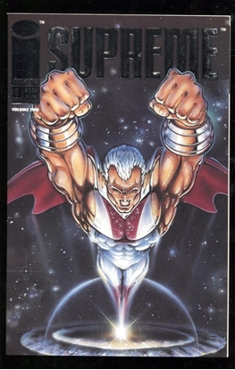 Picture of SUPREME (1992) #1 SILVER FOIL EMBOSSED COVER 9.4 NM