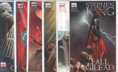 Picture of STEPHEN KING DARK TOWER FALL OF GILEAD #1-6 SET  VF/NM