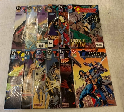 Picture of BLACK CONDOR (1993) #1-12 SET VF/NM