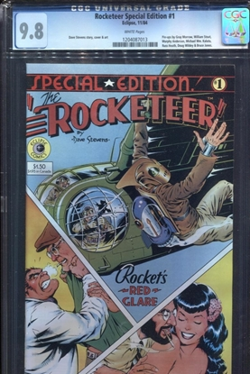 Picture of ROCKETEER SPECIAL EDITION (1984) #1 CGC 9.8 NM/MT WP