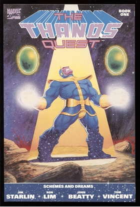 Picture of THANOS QUEST (1990) #1 9.4 NM