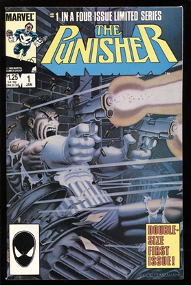 Picture of PUNISHER LIMITED SERIES (1986) #1 9.4 NM