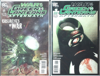 Picture of WAR OF THE GREEN LANTERN AFTERMATH #1&2 SET