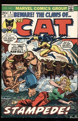 Picture of CAT (1972) #4 9.0 VF/NM