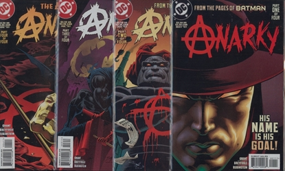 Picture of ANARKY #1 2 3 4 COMPLETE SET HIGH GRADE NM 1ST SERIES 1997 DC COMICS