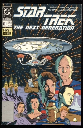 Picture of STAR TREK THE NEXT GENERATION (1989) #1 9.4 NM