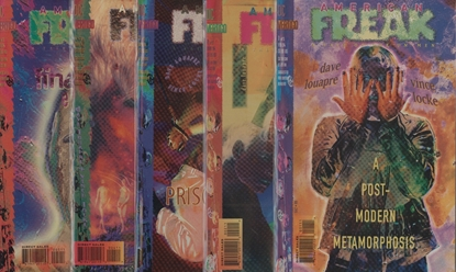 Picture of AMERICAN FREAK (1994) #1-5 SET VF/NM