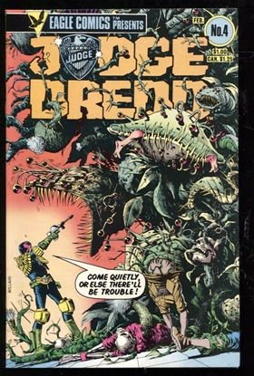 Picture of JUDGE DREDD (1983) #4 9.6 NM+