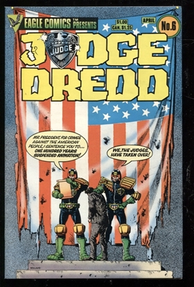 Picture of JUDGE DREDD (1983) #6 9.4 NM