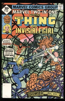 Picture of MARVEL TWO-IN-ONE (1974) #32 9.4 NM