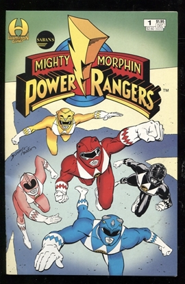 Picture of MIGHTY MORPHIN POWER RANGERS (1994) #1 9 9.0 VF/NM