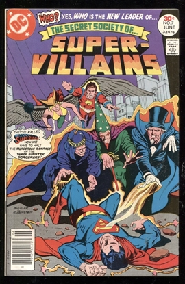 Picture of SECRET SOCIETY OF SUPER VILLAINS (1976) #7 9.0 VF/NM