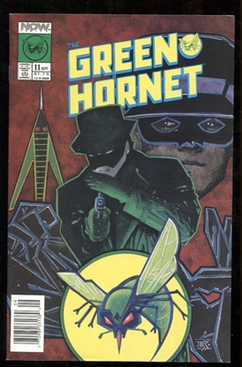 Picture of THE GREEN HORNET (1989) #11 7.5 VF-