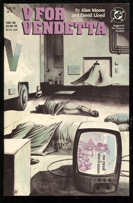 Picture of V FOR VENDETTA #4 9.2 NM-