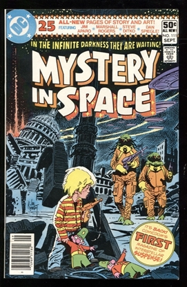 Picture of MYSTERY IN SPACE (1980) #111 9.6 NM+