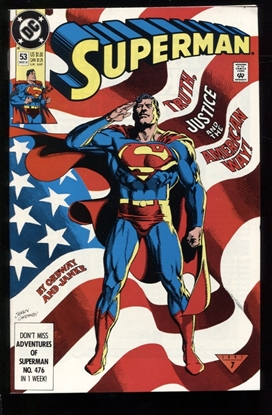 Picture of SUPERMAN (1988) #53 9.4 NM