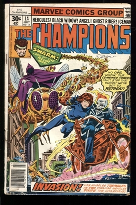 Picture of CHAMPIONS (1975) #14 2.0 GD