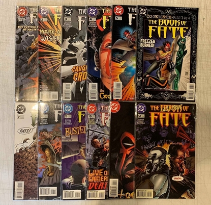 Picture of BOOK OF FATE #1-12