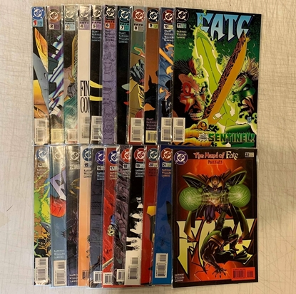 Picture of FATE (1994) #1-22 SET VF/NM