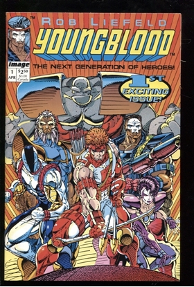 Picture of YOUNGBLOOD (1992) #1 9.0 VF/NM
