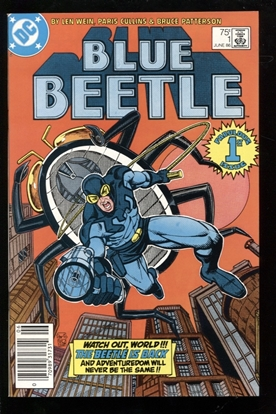 Picture of BLUE BEETLE (1986) #1 9.4 NM