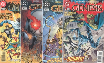 Picture of GENESIS (1997) #1-4 SET VF/NM