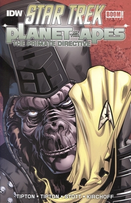 Picture of STAR TREK PLANET OF THE APES TP PRIMATE DIRECTIVE