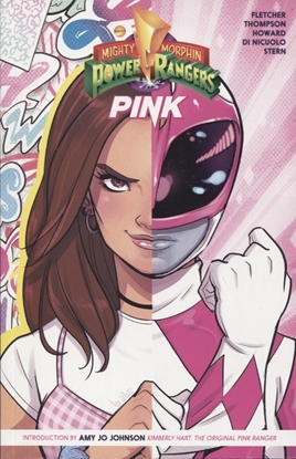 Picture of MIGHTY MORPHIN POWER RANGERS PINK TP VOL 01