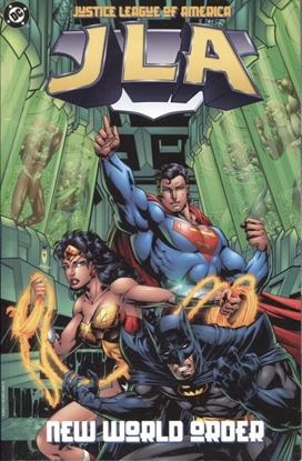 Picture of JLA TP VOL 01 NEW WORLD ORDER