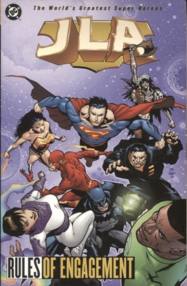 Picture of JLA TP VOL 13 RULES OF ENGAGEMENT