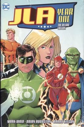 Picture of JLA YEAR ONE DELUXE ED HC