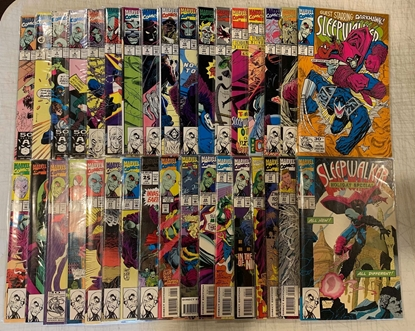 Picture of SLEEPWALKER (1991) #1-33 & HOLIDAY SPECIAL #1 SET VF/NM