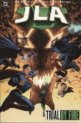 Picture of JLA TP VOL 14 TRIAL BY FIRE
