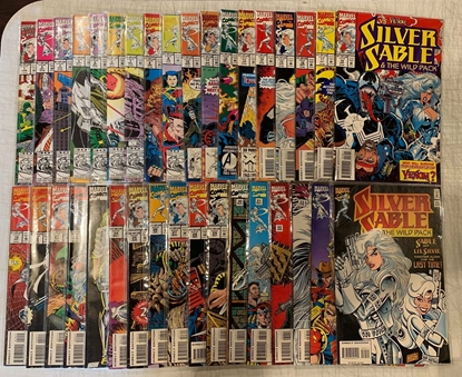 Picture of SILVER SABLE & THE WILD PACK (1992) #1-35 SET VF