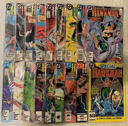 Picture of HAWKMAN (1986) #1-17 + SPECIAL #1 SET VF/NM